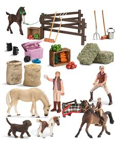 Look at this #zulilyfind! Schleich Horse Starter Set by Schleich #zulilyfinds