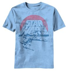 Star Wars: Shipping Out Youth T-Shirt Material: 100% cotton Color: light blue