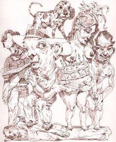 John Cuneo - sketchbook stuff