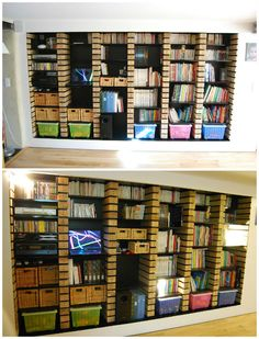 Pallet Wood Upcycled Into Bookshelves | 1001 Pallets ideas ! | Scoop.it