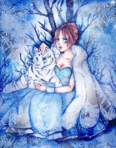 White  tiger and ice princess