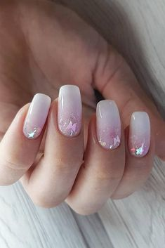 30 Wow Wedding Nail Ideas ❤ nail ideas wedding light white pink ombre bridal nails with sparkles nedozrelova_nailartist Bride Nails, Wedding Nails, Wedding Bride, Glitter Acrylics, Acrylic Nails, Gel Nails At Home, My Nails, Beautiful Nail Polish, Nagel Gel