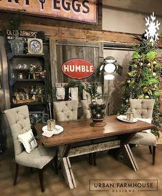 Urban Farmhouse Dining Room