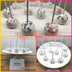 Cake Pops mit Lemon Curd