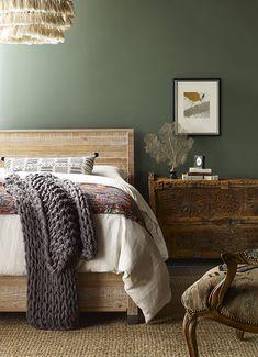 Top Paint Colors, Paint Colors For Home, House Colors, Cabin Paint Colors, Office Paint Colors, Popular Paint Colors, Bedroom Green, Home Bedroom, Bedroom Decor