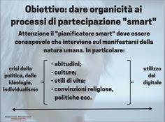 Obiettivo: dare organicità ai processi smart #smartcitizen http://www.michelevianello.net/obiettivo-smart-citizen/