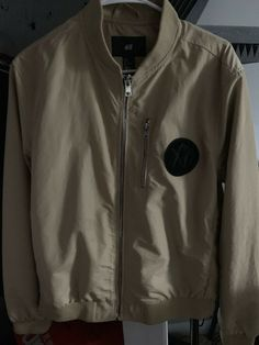 1bc47670a7a1 The Weeknd H M XO Beige Bomber Jacket Men s Size - M  fashion  clothing   shoes  accessories  mensclothing  coatsjackets (ebay link)