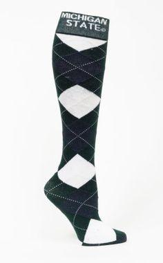 109-NCAA Fbf Originals Ncaa Argyle Sleep Sock