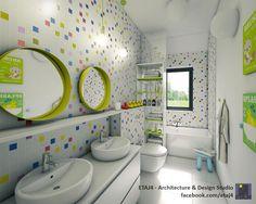 Interior design project for a single family house in Cluj, Romania // Design & visualization by ETAJ4
