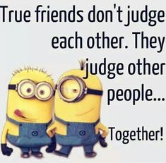 Here are the best funny minion quotes ever! Everyone loves minions and these hilarious minion quotes will put a smile on your face! Memes Humor, Funny Minion Memes, Funny Jokes, Humor Quotes, Fun Funny, Minion Humor, Funny School Jokes, Funny Ideas, Minion Love Quotes