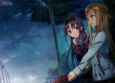 Sword Art Online, Yuuki Asuna, Konno Yuuki