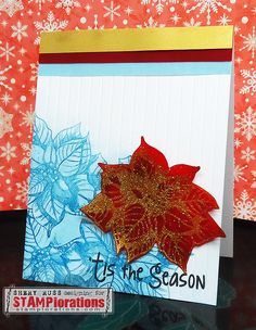 Card by Shery using Holiday Sketches: Christmas Flower and Holiday Sketches: Christmas Bells