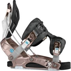 Flow Prima Womens Snowboard Bindings All Mountain Rear Entry Large Champagne• I-Flex Powerstrap - 3D shape providing a direct boot to binding to board feel • N.A.S.T.Y - New active strap technology, taking the recling highback to the next level. #snowboard #snowboarding #flowprimawomenssnowboardbindingsallmountainrearentrylargechampagne #allmountain