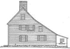 Saltbox House Explained Saltbox Bliss Homestead