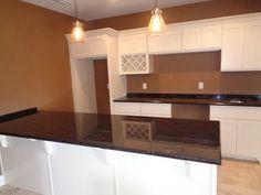 Brown Antique - Merrimac WI    -  http://www.amfgranite.com/granite-countertops-projects/brown-antique-merrimac-wi/