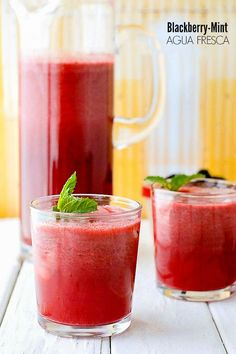 Print Blackberry Mint Agua Fresca Agua Fresca is a refreshing fruit water that quenches the thirst with a beautiful flavor of berries and mint in this version. Able to be made in about 10 minutes, it's a simple way to celebrate Cinco de Mayo or any day without much effort or time. Prep Time 10...