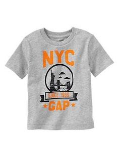City graphic T - Moms and tots are obsessed! Durable mix-and-match knits designed especially for comfort, ease, and fun.