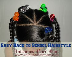 Fabulous easy hairstyles for work! Fabulous easy hairstyles for work! Lil Girl Hairstyles, Easy Hairstyles For School, Natural Hairstyles For Kids, Trendy Hairstyles, Long Haircuts, Afro Hairstyles, Children Hairstyles, Toddler Hairstyles, Princess Hairstyles