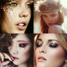 Moda, beleza ... y otras cositas mas!: Maquiagem para o carnaval, glitter, delineados, boca vermelha e beijinhos no ombro...