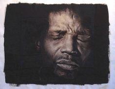"Rashid Johnson, ""Jonathan with Eyes Closed"" (1999)"