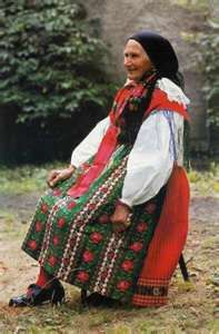 kroj means costume in Czech Bohemian Girls, Bohemian Art, Colourful Outfits, Colorful Clothes, Folk Clothing, Folk Costume, Costumes, People Of The World, Beautiful Patterns
