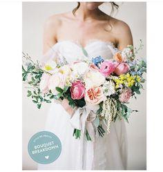 Bouquet blush wedding