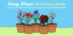 #ezNEWS The #SwagBucks Swag Bloom Team Challenge has begun!! Join here http://www.swagbucks.com/?cmd=sb-swag-bloom Please remember to use the #ezCHECKLIST to earn swagbucks the EZ way!! #GoodLuck #HaveFun #ezswag http://blog.swagbucks.com/2015/04/swag-bloom-team-challenge.html