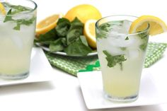 Lemonade Basil Lemonade Recipe Beverages with granulated sugar, lemon juice, fresh basil leaves, water, iceBasil Lemonade Recipe Beverages with granu Refreshing Drinks, Summer Drinks, Fun Drinks, Beverages, Basil Lemonade, Watermelon Lemonade, Strawberry Lemonade, Pink Lemonade, Fresh Basil Leaves
