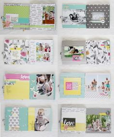 Balaton mini album by Noemi Mounier | Scrapfellow