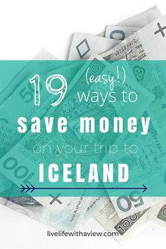 Trying to budget your trip to Iceland? Want to experience Iceland but not by spending all your money? Click here for 19 easy tips for helping you travel in Iceland without breaking the bank! | Life With a View http://www.livelifewithaview.com