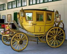 Regal Carriage at the Royal Carriage Museum at Dusit Park in Bangkok, Thailand
