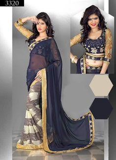 0c09ff73ac 18 Best sarees images | Beautiful saree, Party events, Chiffon