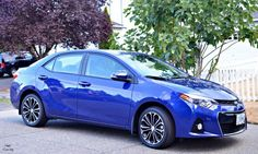 My thoughts on the 2015 Toyota Corolla S. Isn't that such a gorgeous blue color?