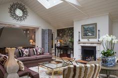 Studio Indigo – South End  #studioindigo #interiors #interior #interiordesign #design #art #colour #london #grand #luxe #luxurious #window #skylight #purple #decorations #patterns