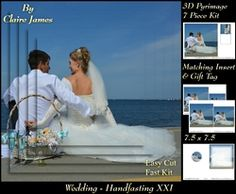 Tying The Knot 21   Weddings   Handfastings   Pyrimage pyramid   Matching Insert   Tag  on Craftsuprint - View Now!