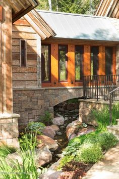 10 (8) creek under building This is how the world's richest woman lives: Christy Walton's Wyoming estate is for sale
