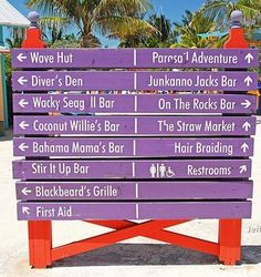 All kinds of fun things to do in Coco Cay!