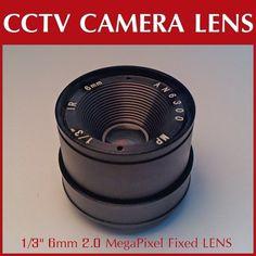 "Good price 6mm 58 Degree F1.6 CCTV Lens IR 1/3 ""2.0 Megapixel HD FIXED LENS CS Mount Type For CCTV Camera AN6300 best buy"