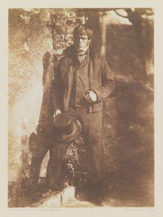 David Octavius Hill and Robert Adamson, A Newhaven Fisherman, 1844, salt print from paper negative