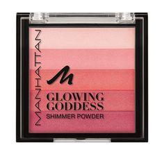 Manhattan Glowing Goddess Summer 2014 Glowing Goddess Shimmering Powder – Limited Edition – €4.99  #beautynews #beauty2014 #beautyproduct #cosmetic2014  #cosmeticnews #makeup2014 #makeup   #beautyfall #fall2014