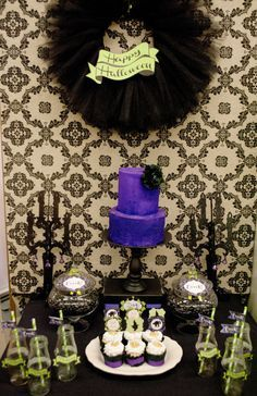 maleficent birthday party - Google Search