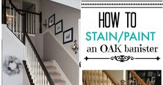 I finally tackled those outdated ugly orange oak stair banisters! What a difference it makes, right? It really is very easy to do, and it...