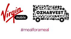 Virgin Mobile launches new initative with OzHarvest to feed people who need it