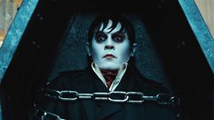 "From visionary director Tim Burton comes the big-screen adaptation of the TV vampire classic ""Dark Shadows"" featuring an all-star cast, led by perennial collaborator Johnny Depp. Johnny Depp, David Collins, Jonny Lee Miller, Barnabas Collins, Dark Shadows Movie, Jeter Un Sort, Tim Burton Characters, Cartoon Characters, Movies"