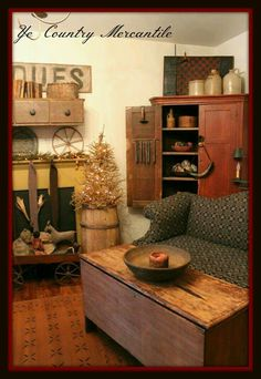 Ye Country Mercantile #PrimitiveHomes