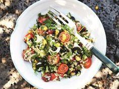 Pascale Naessens - Quinoa met tomaatjes, verse kruiden en nootjes