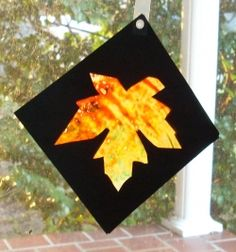 This might be a craft for the older scouts the week before thanksgiving. it involves a hot iron so I'm thinking Juniors and Up