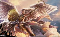 Linvala the Preserver by Magali Villeneuve