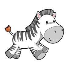 cartoon zebra - Google