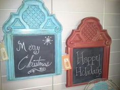 Repurposed headboard American Paint Company, Paint Companies, Chalk Paint, Happy Holidays, Repurposed, Mirror, Painting, Home Decor, Decoration Home